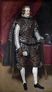 <i>Philip IV in Brown and Silver</i>