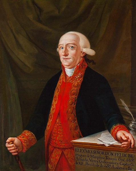 Retrato de Félix Berenguer.