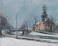 Felix Esterl - Paternioner-Brücke in Klagenfurt - ca1922.jpeg