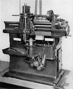 "Edwin R. Fellows - Original ""6-Type"" production Fellows gear shaper, ca. 1897."