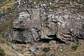 Felsformationen in einer Schlucht bei Amberd, Armenien VI.jpg
