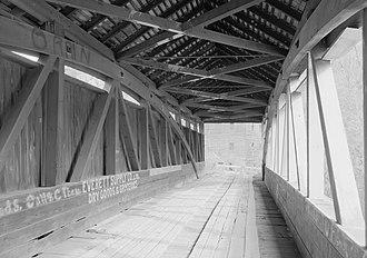 Feltons Mill Covered Bridge - Feltons Mill Covered Bridge, 1992