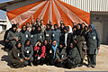 Female Afghan police officers pose for a group photo during an International Women's Day celebration March 8, 2012, at Camp Northern Lights, Afghanistan 120308-K-ZZ999-002.jpg