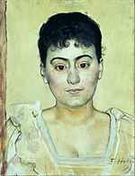 Ferdinand Hodler - Portrait of Madame de R. - Google Art Project.jpg
