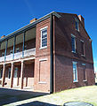 Fernandina Beach FL Fort Clinch fort bldg02 pano01.jpg