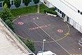 Feuerwehrfläche zwischen Messehallen der Kölnmesse-1997.jpg