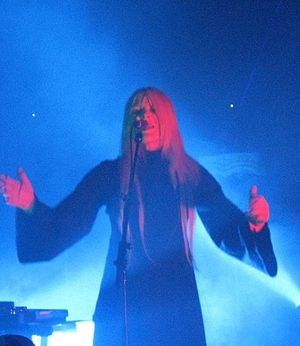 English: Fever Ray in concert