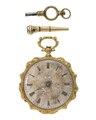 Fickur med två urnycklar, 1840-tal - Hallwylska museet - 109946.tif