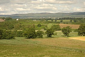 Fields and hillock - geograph.org.uk - 502827.jpg
