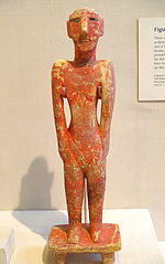 Male figurine from Tell Fekheriye (c. 9000–7000 BC)