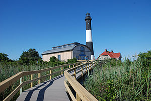 Fire Island National Seashore - Fire Island Lighthouse