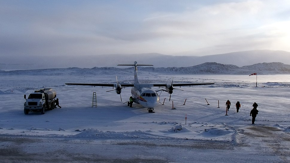First Air in Ikpiarjuk -a