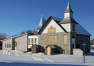 National Register of Historic Places listings in Saguache County, Colorado - Image: First Baptist Church of Moffat