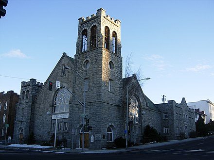 First Congregational Church, in Spokane County First Congregational Spokane.JPG