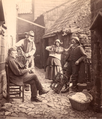 Fisher Folk in Robin Hood's Bay , 1880.png
