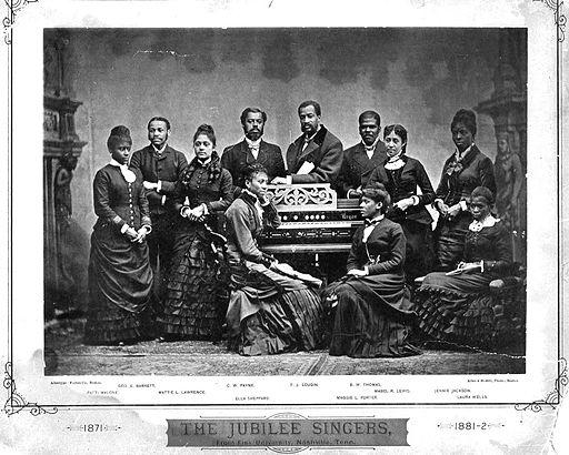 Fisk Jubilee Singers 1882