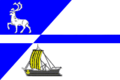Flag of Dudinka (Krasnoyarsk krai).png