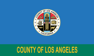 Carthay, Los Angeles - Image: Flag of Los Angeles County, California