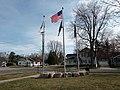 Flagpoles at Coopersville City Hall.jpg