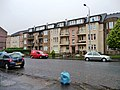 Flats with balconies and gardens, Shettleston Road (geograph 3225236).jpg