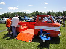 Truck Hinged Wood Bed