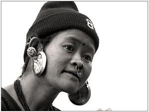 Sankhuwasabha District - A Limbu woman