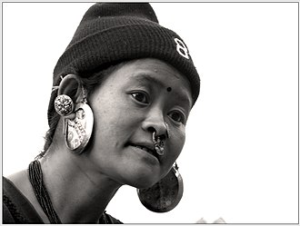 Sankhuwasabha District - A Limbu woman
