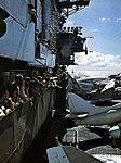Flight deck view of USS Coral Sea (CVA-43) in 1975.jpg