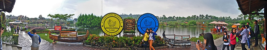 1024px Floating Market Lembang   including selfie alays %2827126485005%29 - Floating Market Lembang