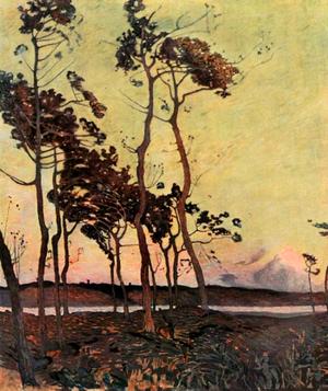 Florence Esté -  Florence Esté, La Baie de l'Orne, 1911