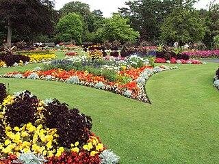 Flower garden garden where flowers are grown and displayed