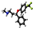 Fluoxetine molecule ball from xtal.png