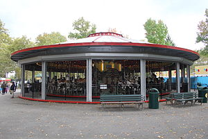 National Register of Historic Places listings in Queens, New York - Image: Flushing Meadows Carousel 06