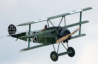 Fokker Dr.I fighter aircraft
