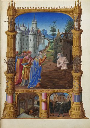 Folio 82r - Job Mocked by His Friends.jpg