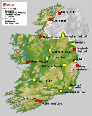 2008 League of Ireland Premier Division - Image: Football league of ireland season 08
