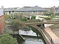 Footbridge across the River Darent - geograph.org.uk - 1247568.jpg