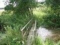 Footbridge leading into Londesborough Park - geograph.org.uk - 120107.jpg