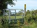 Footpath kissing gate at Sawbridge - geograph.org.uk - 1338762.jpg