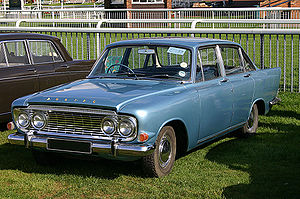 Ford Zephyr - Ford Zodiac Mark III saloon (213E)