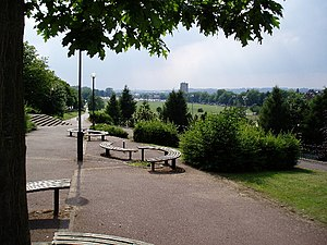 Forest Recreation Ground - Image: Forest Recreation Ground, Nottingham geograph.org.uk 28638