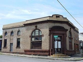 Coaldale, Schuylkill County, Pennsylvania - Image: Former Bank, Coaldale, Schuylkill County PA 01