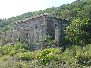 Hassel Island, U.S. Virgin Islands - Fort Willoughby Garrison House, Hassel Island