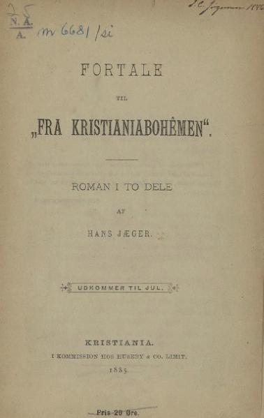 File:Fortale til Kristianiabohêmen.djvu