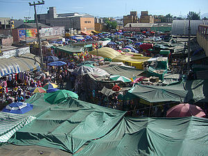 La Merced (neighborhood) - La Merced around the market