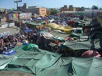 La Merced (neighborhood) - La Merced around the market