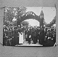 Foto van het bezoek van Koningin Wilhelmina aan de boerderij Hollaendergaard als, Bestanddeelnr 252-8791.jpg