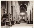 Fotografi av interiör av katedral. Neapel, Italien - Hallwylska museet - 106841.tif