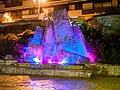 Fountain, Saint-Gervais-les-Bains (P1070927).jpg