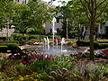 Fountain by Piper Hall, Loyola University Chicago.JPG